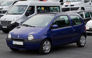 Design de la Renault Twingo 1