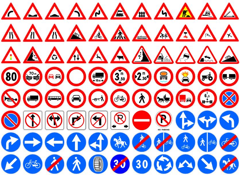 Panneaux du code de la route