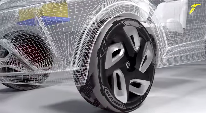 Le pneu qui recharge la batterie BH3
