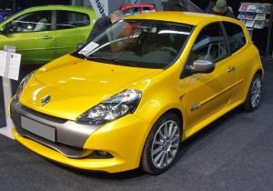 Pneumatique sportif Renault CLio 3