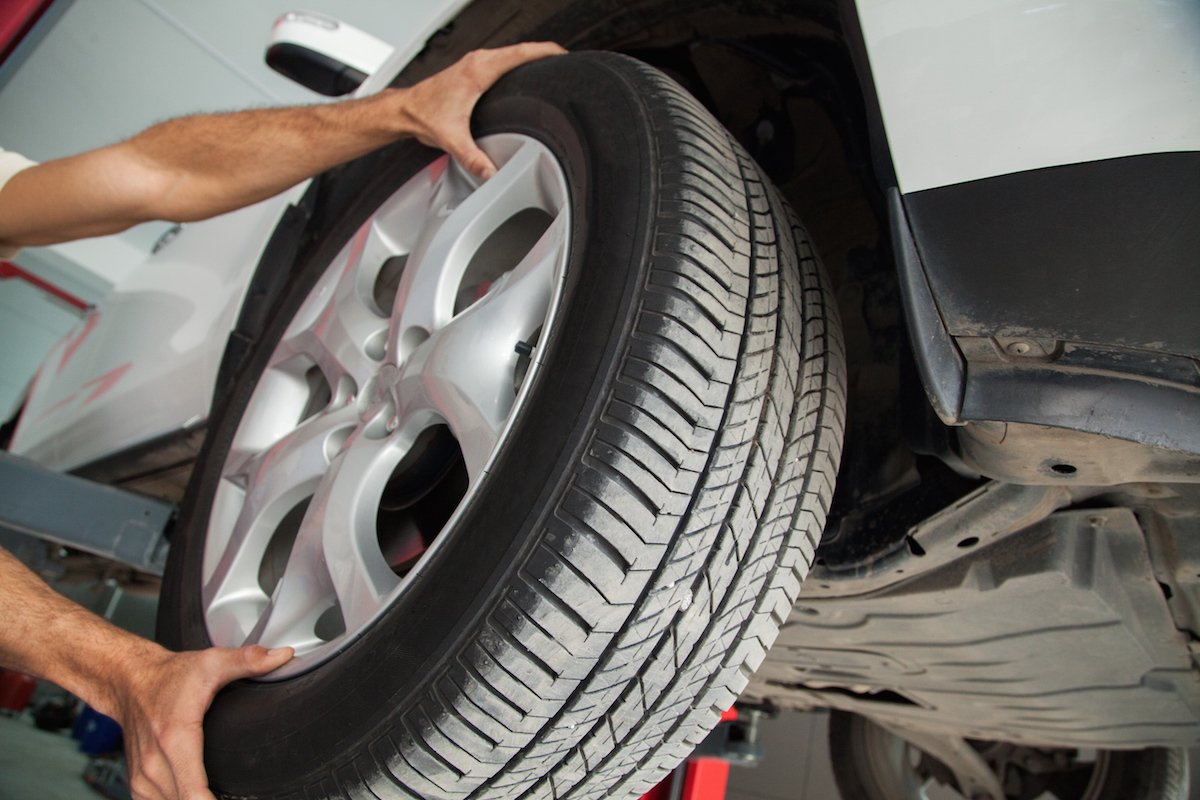 Réparation d'un pneu tubeless